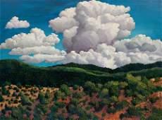 Donna Clair (American, b. 1939) Thunderspirits of Taos,