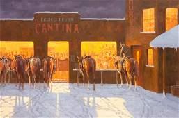Jim Rey (American, b. 1939) Calico Cantina