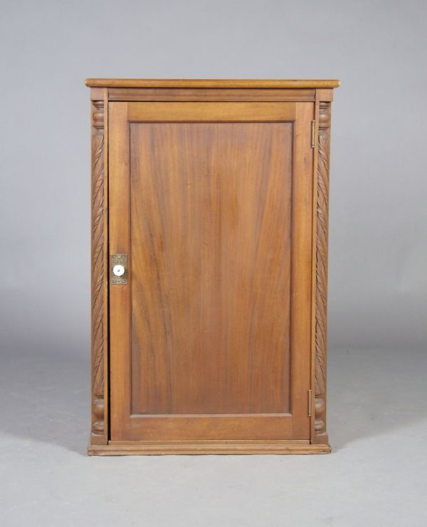 9: A Music Cabinet, Peck and Hills Furniture Company, H