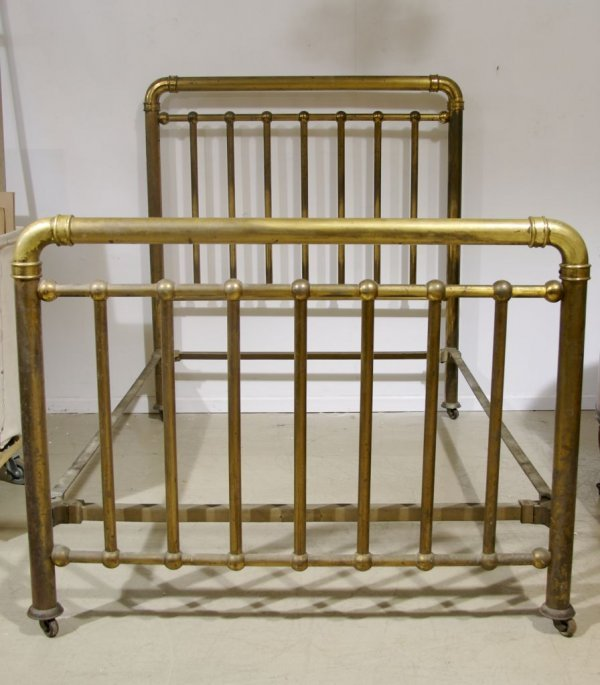 69: An American Brass and Iron Bed, Art Bed Co., Chicag