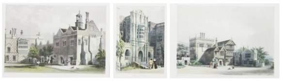 622: Chapman and Hall, , A group of three English Archi