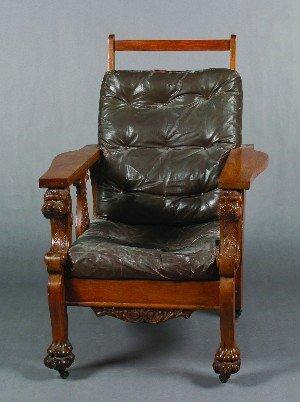 433: A Renaissance Revival Style Adjustable Armchair,