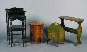 437: A Collection of Painted Furniture,
