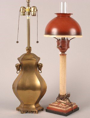 446A: Two Pairs of Table Lamps,