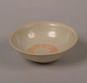1145: A Chinese Qingbai Ceramic Bowl, Diameter 5 3/4 in