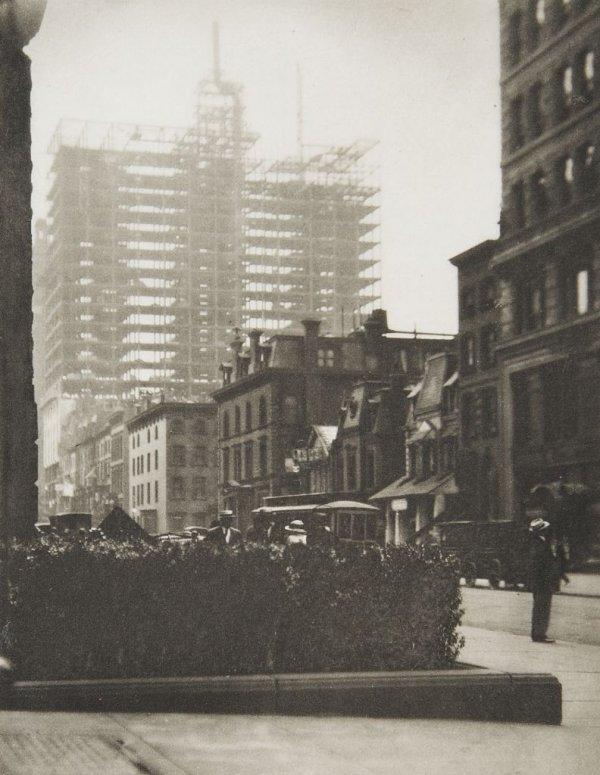Alfred Stieglitz, (American, 1864-1946), Old and NewYor