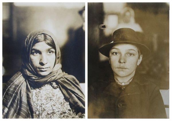 Lewis Wickes Hine, (American, 1874-1940), Magyor Boy an