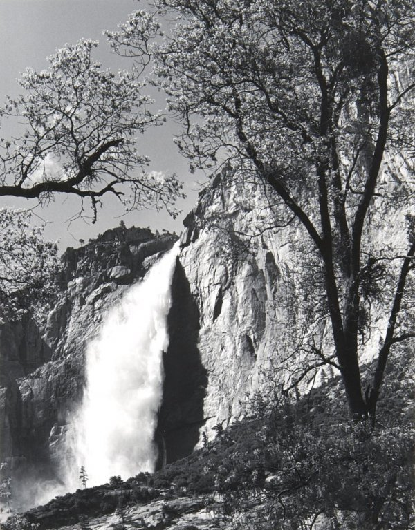 Ansel Adams, (American, 1902-1984), Yosemite Falls, Spr