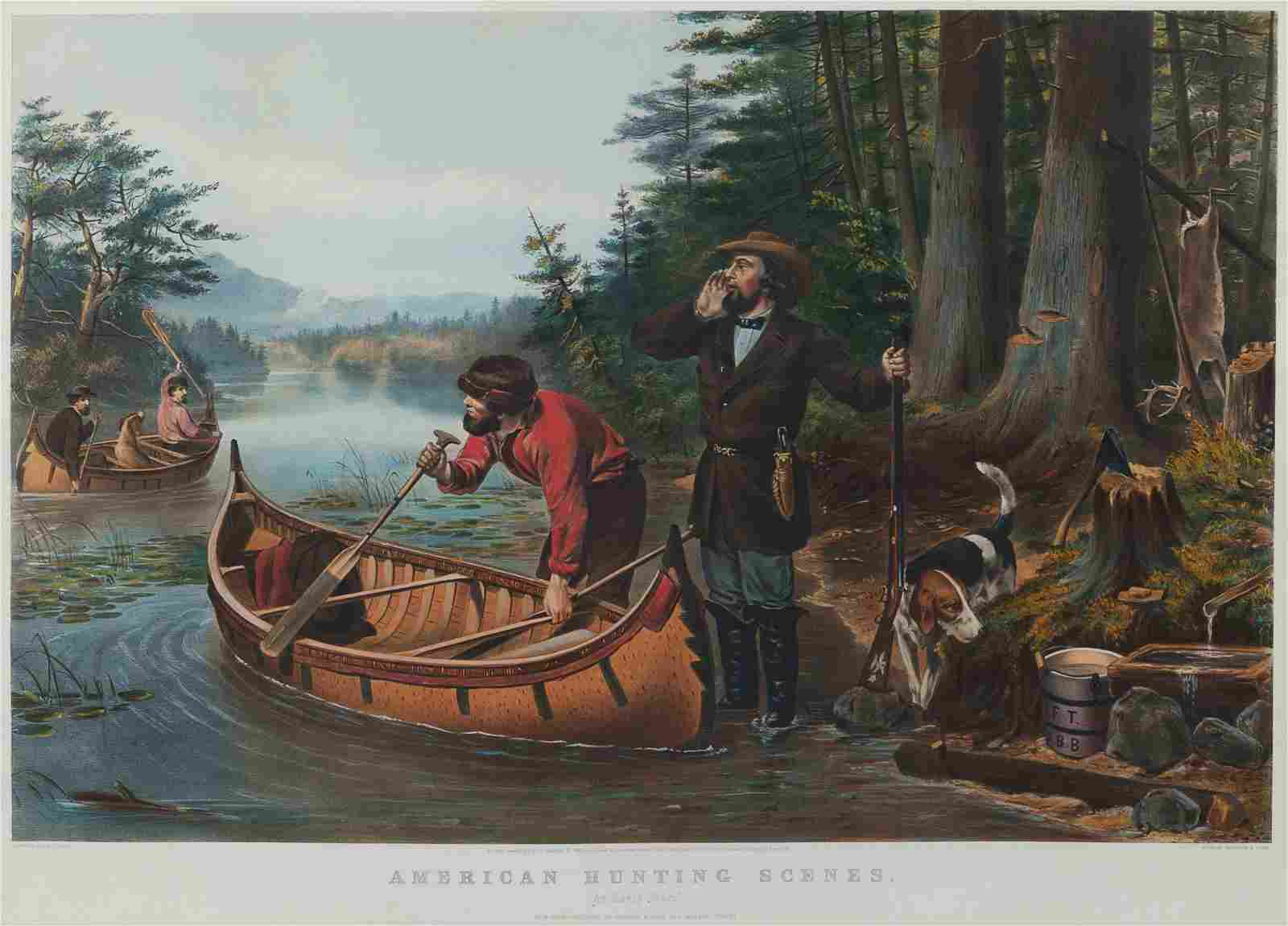 CURRIER and IVES, publishers -- after Arthur F. Tait