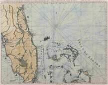 [JEFFERYS, Thomas]. La Peninsule et Golfe de la Floride