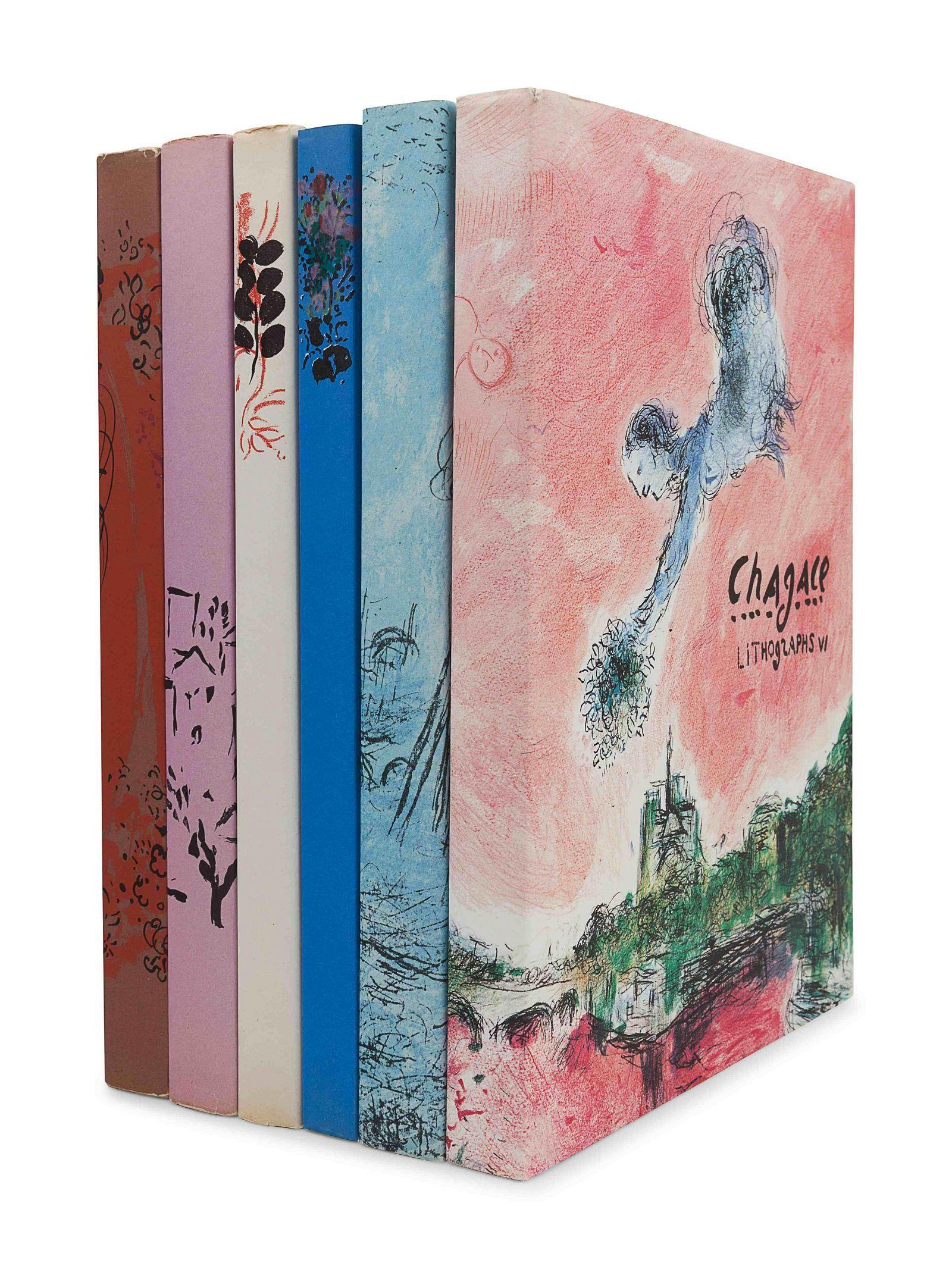 CHAGALL, Marc (1887-1985). Chagall Lithographs. Vol.I: