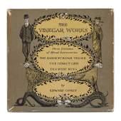 GOREY Edward 19252000 The Vinegar Works Three