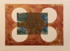 Ronald Davis (American, b. 1937) Four Circle, 1971