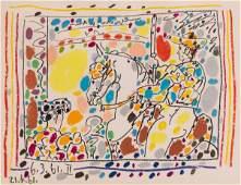 Pablo Picasso (Spanish, 1881-1973) Le Picador II, 1961