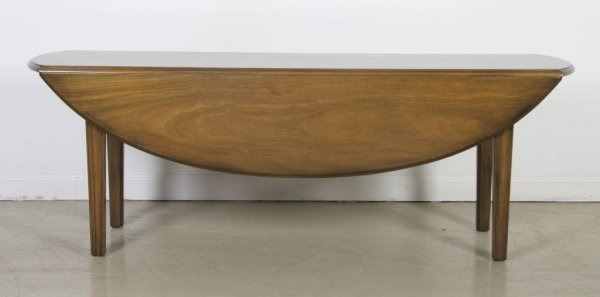 4: An American Drop-Leaf Low Table, Kittinger, Height 1