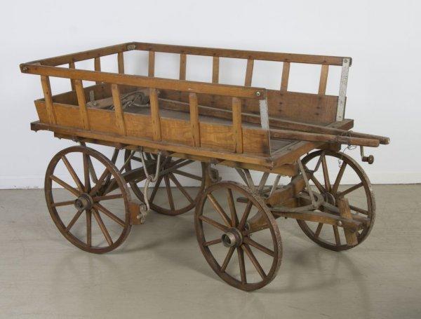 73: A German Four Wheel Wagon, Wagenfabrik, Height 33 1