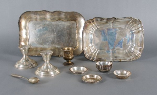 436: A Collection of American Sterling Silver Articles,