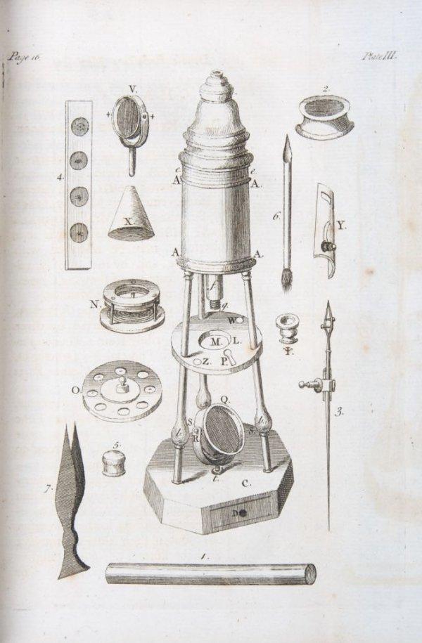 4: BAKER, HENRY. The Microscope Made Easy. London, 1754