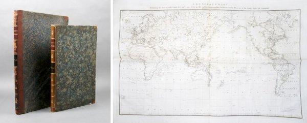 16: (EXPLORATION) COOK, JAMES. A set of 2 folio atlases
