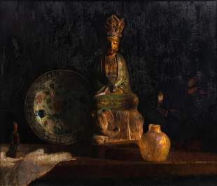 Hovsep Pushman (American, 1877-1966) Sun God, c. 1940