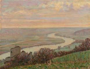 Auguste Herbin (French, 1882-1960) Chateau de la