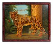 William Skilling American b 1940 The Tiger