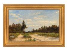 Thomas Bigelow Craig (American, 1849-1924) The Road to