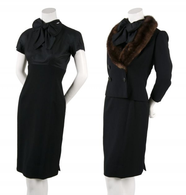 A Traina-Norell Wool Dress Suit,