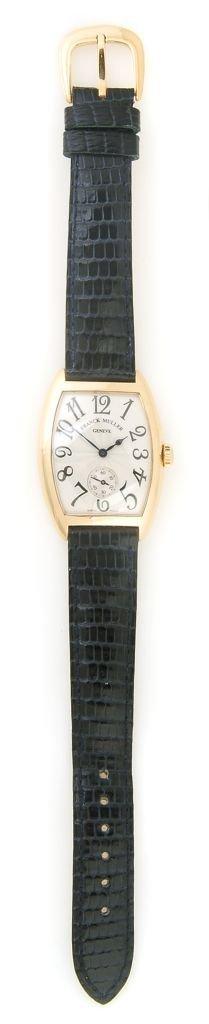 An 18 Karat Rose Gold Wristwatch, Franck Muller, Geneve