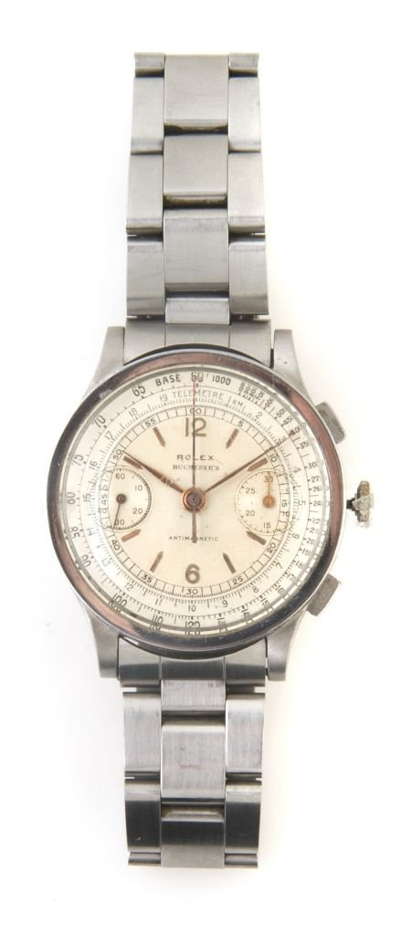 A Stainless Steel Wristwatch, Rolex,