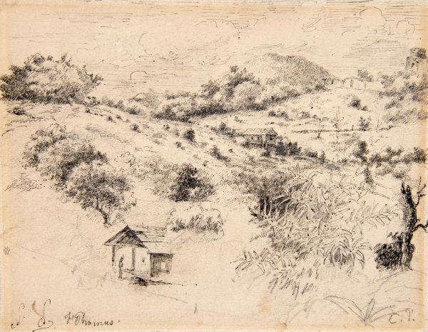 Camille Pissarro, (French, 1831-1903), St. Thomas