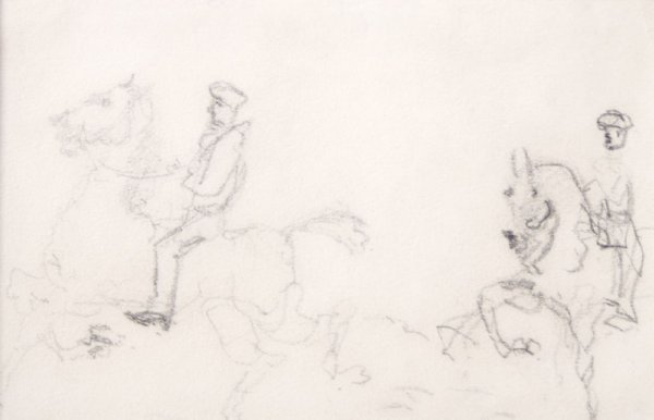 Attributed to Henri de Toulouse-Lautrec, (French, 1864-