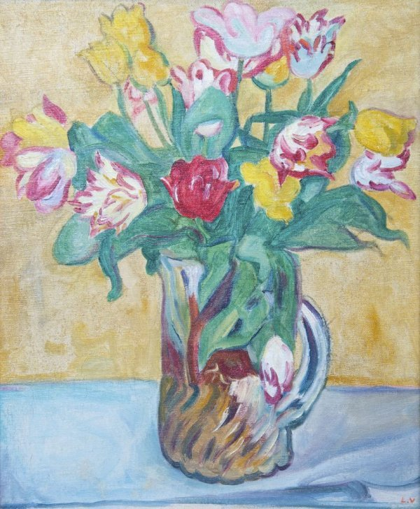 Louis Valtat, (French, 1869-1952), Tulips
