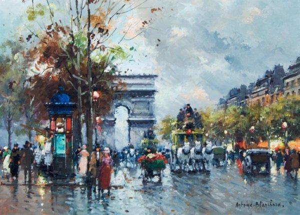 Antoine Blanchard, (French, 1910-1988), Arc de Triomphe