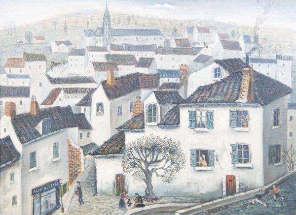Jean Raffy Le Persan, (French, b. 1920), Vue de Perigue