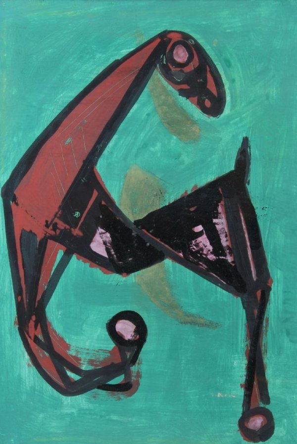 Marino Marini, (Italian, 1901-1980), Cavallo(Flying Hor