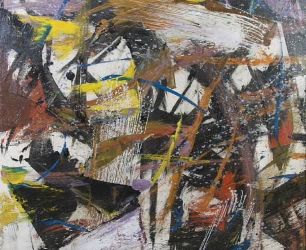 John Saccaro, (American, 1913-1981), Untitled, 1959