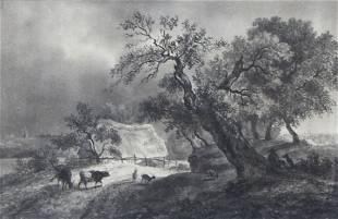 Hermann Herzog, (German/American, 1832-1932), Before th