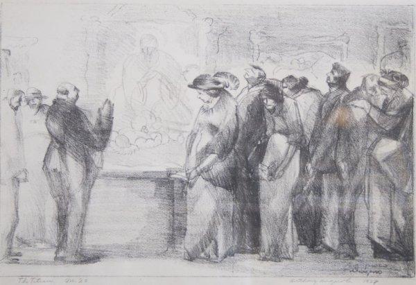 Anthony Angarola, (American, 1893-1929), The Titian, 19