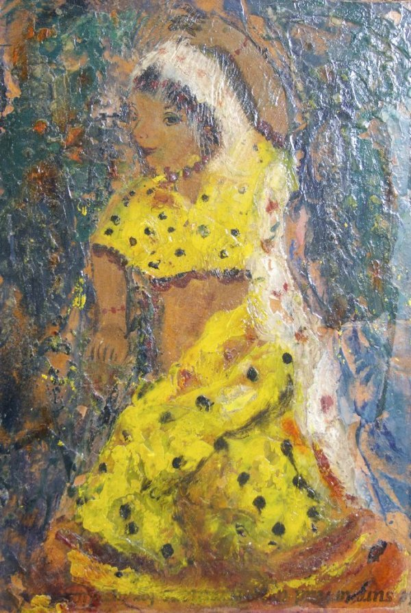 Rifka Angel, (American, 1899-1972), Simkie of the Uday-
