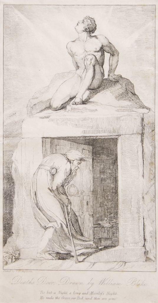 William Blake, (British, 1757-1827), Variant from Blair