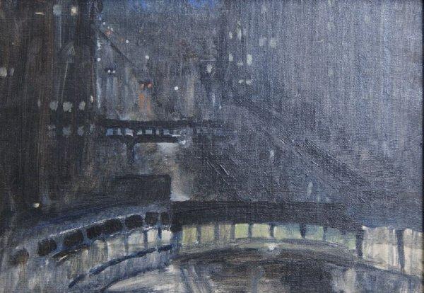 Ruth H. Bohan, (American, 1891-1981), Night Sketch at C