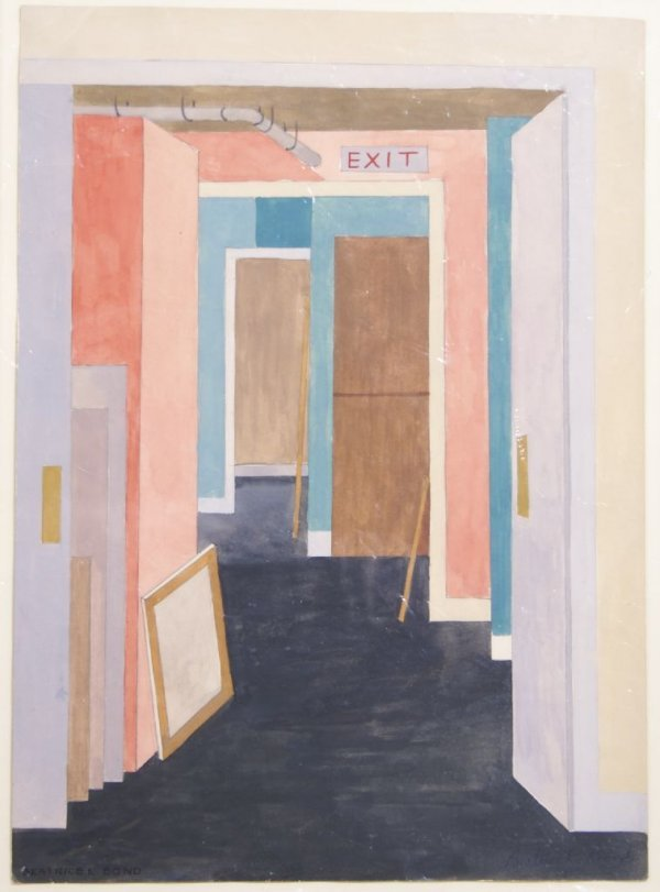 Beatrice Bond, 20th century, New York, Back Rooms of Fi