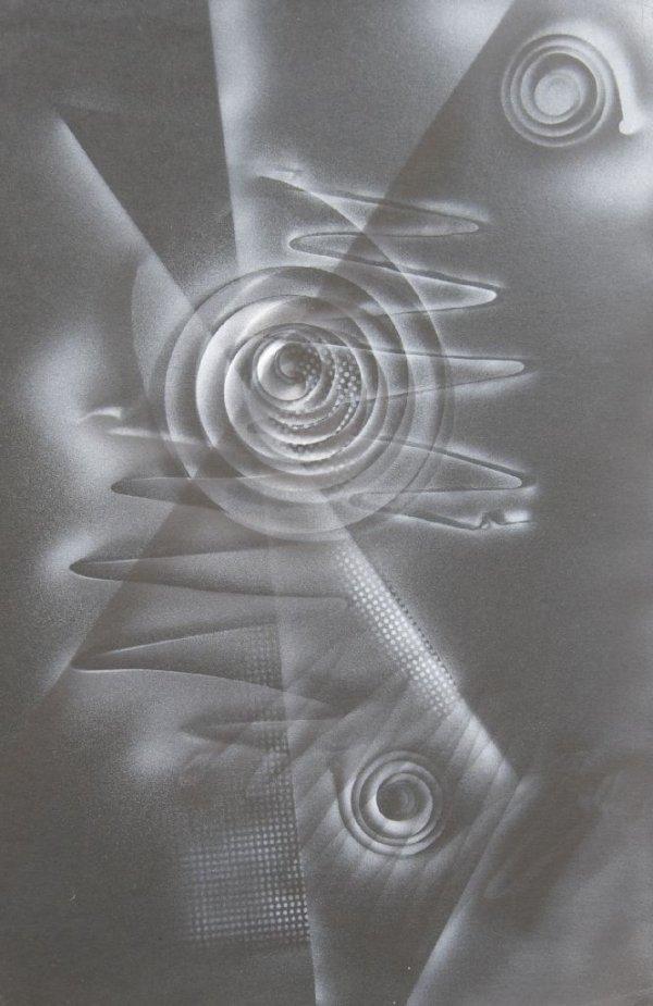 J. F. Cada, (American, 20th Century), Photogram, circa