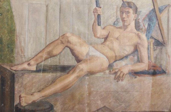 Ezio Martinelli, (American, 1913-1980), Untitled (Male
