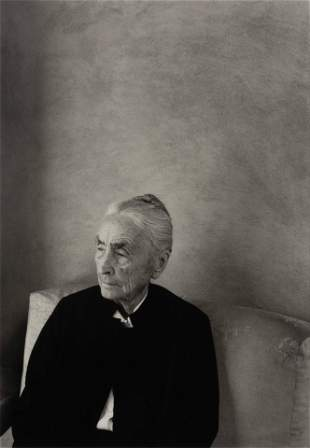 William Clift (American, b. 1944) Georgia O'Keefe