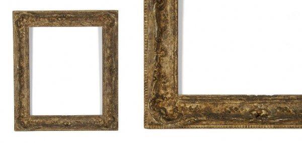 A European, 19th Century Frame. sight size: 12 1/2 x 15