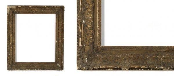 A European, 19th Century Frame