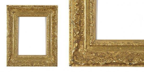 A European, 19th Century Frame. sight size: 13 x 17 3/4