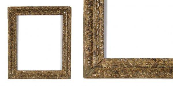 A European, 19th Century Frame. sight size: 14 5/8 x 17